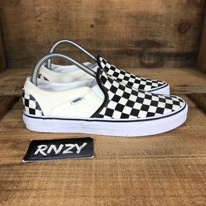 Vans Classic Checkered Slip On Sneaker